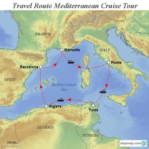 stepmap-karte-travel-route-mediterranean-deluxe-tour-1230103